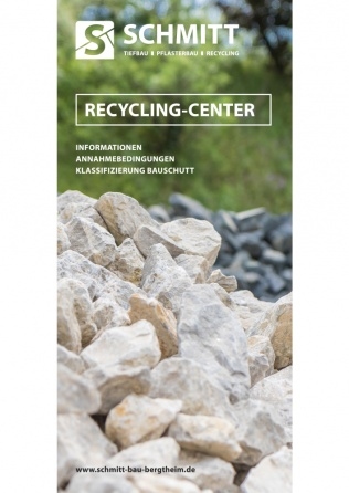 Flyer-Schmitt-Bau-Recycling-Center